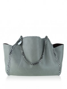 Bolsa Stella Mccartney Falabella Reversible Tote Bicolor