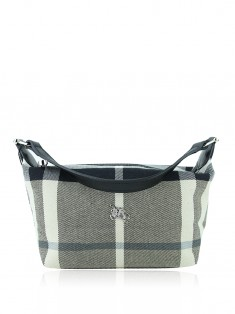 Bolsa Burberry Beat Ckeck Black White