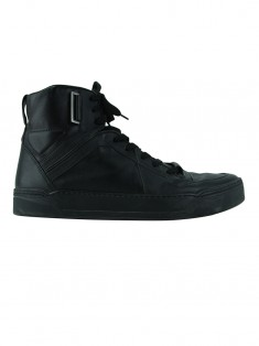 Tênis Gucci High-Top Preto