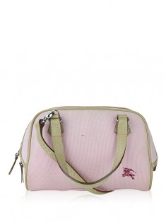 Bolsa Burberry Blue Label Canvas Rosa