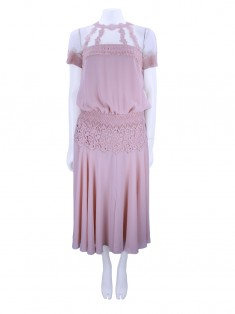 Vestido Candy by Candy Brown Midi Rosa