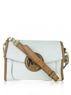 Bolsa Michael Michael Kors Fulton Crossbody Off White