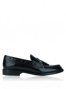 Sapato Saint Laurent Paris Penny Loafer Preto