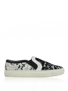Tênis Givenchy Slip-On Lace Bicolor