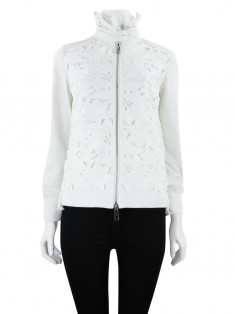 Jaqueta Animale Floral Off White