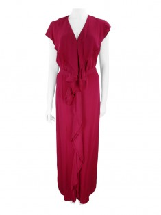 Vestido Stella Mccartney Crepe Cereja