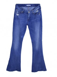 Calça Seven For All Mankind Jeans Claro
