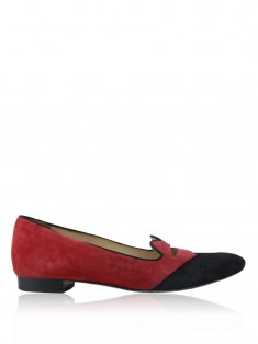 Mocassim Charlotte Olympia Bisoux Red Lips