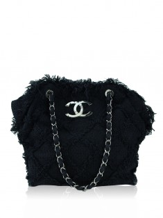 Bolsa Chanel Tweed Nature