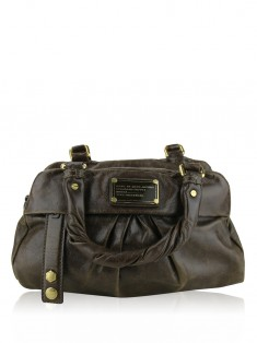 Bolsa Marc By Marc Jacobs Twisted Q Groovee Marrom