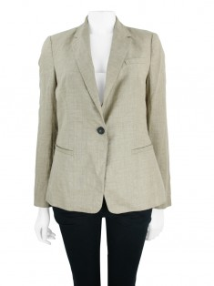 Blazer Zara Collection Caqui