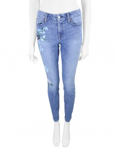 Calça Seven For All Mankind Ankle Skinny Floral