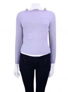 Blusa Gianni Versace Tricot Bege