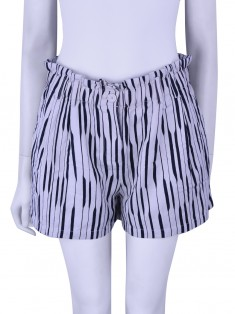 Shorts Armani Exchange Listrado Bicolor
