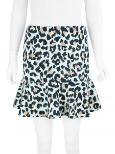 Saia Animale Animal Print Tricolor