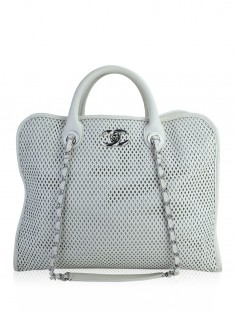 Bolsa Chanel Up In The Air Tote Branca