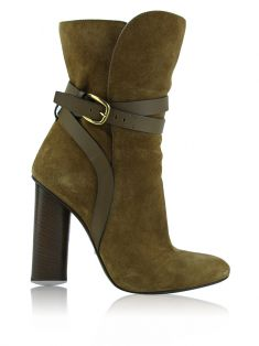 Ankle Boot Gucci Abigail Caramelo