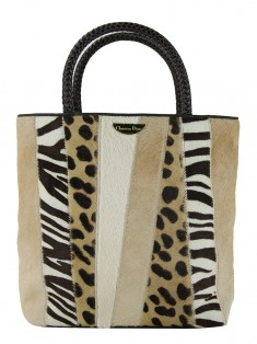 Bolsa Christian Dior Masai Animal Print