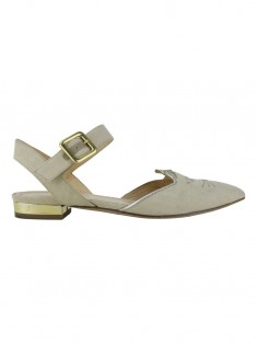 Sapatilha Charlotte Olympia Canvas Bege