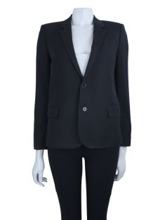 Blazer Saint Laurent Lã Preto