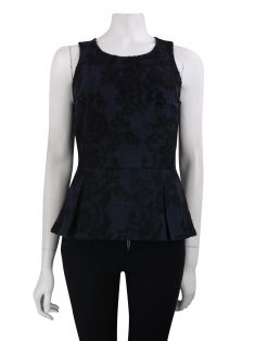 Blusa Armani Exchange Renda Bicolor