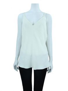 Blusa Cris Barros Crepe Off White