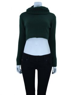 Blusa Cruise Tricot Cropped Verde