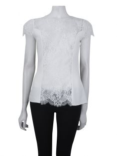 Blusa Daslu Renda Off White