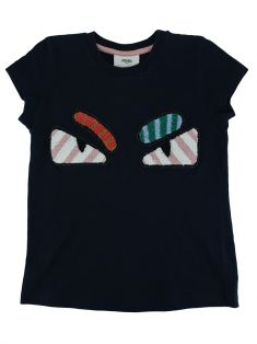 Blusa Fendi Monster Infantil