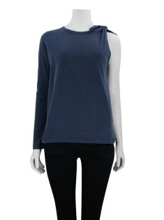 Blusa Framed Knot Navy