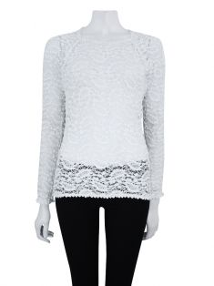Blusa Isabel Marant Renda Off White