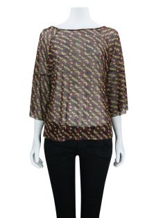 Blusa Joie by Ateen Estampada