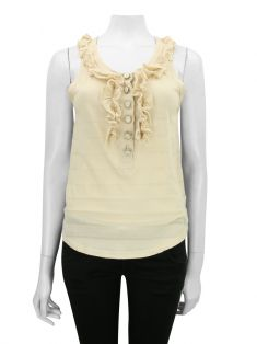 Blusa Marc by Marc Jacobs Babados Bege