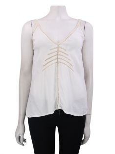 Blusa Missinclof Rendinhas Off White