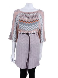 Blusa Missoni Knit Chevron