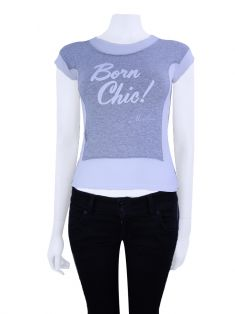 Camiseta Moschino Teen Born Chic