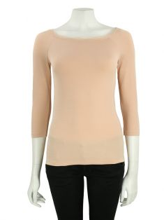 Blusa Wolford Tule Rosa
