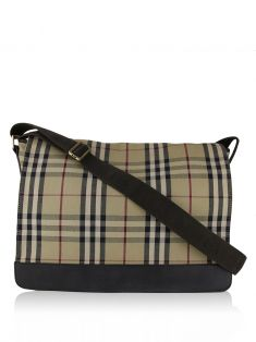 Bolsa Burberry House Check Messenger Xadrez