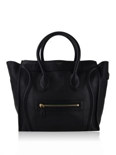 Bolsa Celine Mini Luggage Preto