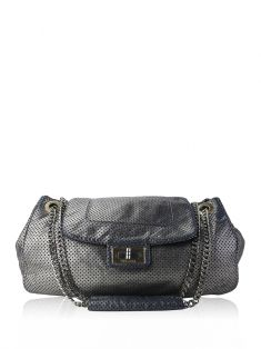 Bolsa Chanel Accordion Drill Prata
