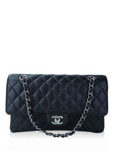 Bolsa Chanel Classic Double Flap Medium Preto