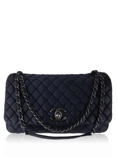 Bolsa Chanel Flap New Bubble Azul
