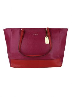 Bolsa Coach City Tote Colorblock