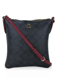 Bolsa Coach North/South Crossbody Canvas