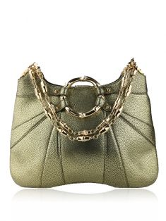 Bolsa Gucci Bamboo Tom Ford Chain Verde Metálico
