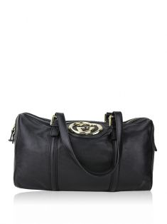 Bolsa Gucci Britt Boston Preto