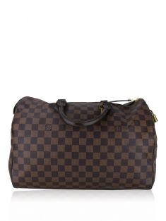 Bolsa Louis Vuitton Speedy Damier Ebene 35