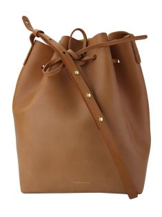 Bolsa Mansur Gavriel Bucket Natural Leather