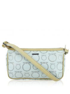 Bolsa Salvatore Ferragamo Canvas Off-White