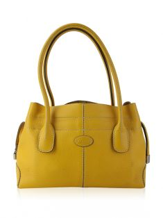 Bolsa Tod's D-Styling Tote Amarela